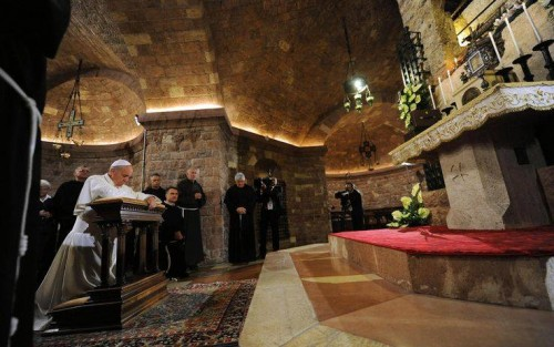 papa francesco assisi lampedusa