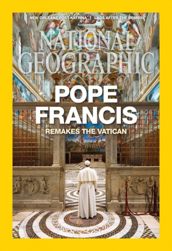 National Geographic dedica la copertina a Papa Francesco