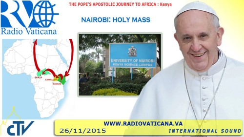 Santa Messa nel Campus dell'Università di Nairobi
